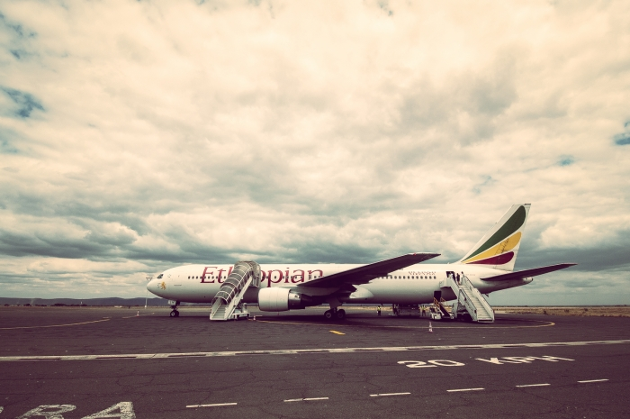 Ethiopian Airlines at kilimanjaro airpotr_flickr_Yoni Lerner (CC BY 2.0)