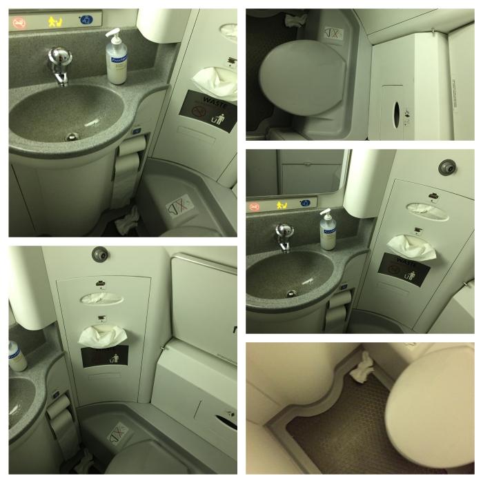 Finnair toilet