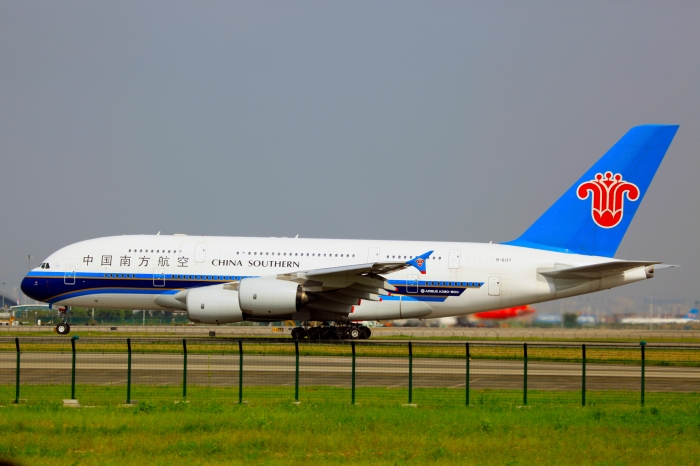 China Southern A380, source byeangel, Flickr, (CC BY-SA 2.0)