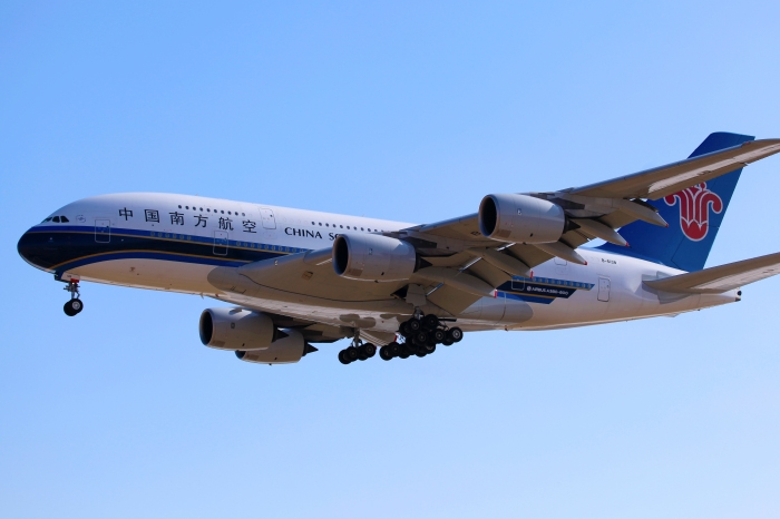 China Southern Airlines Airbus A380, source: beyangel, Flickr, (CC BY-SA 2.0)