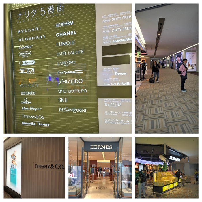Shops at Narita Airport
