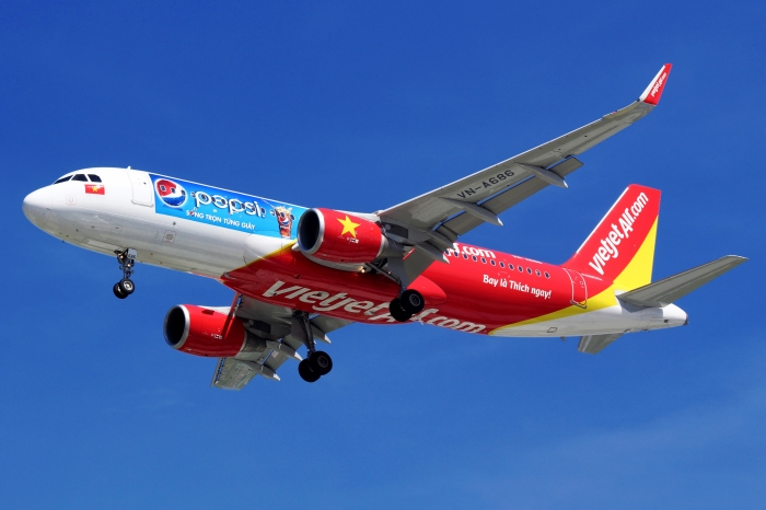 Vietjet Air VN-A686 Pepsi livery_flickr_Blue Stahli Luân_(CC BY 2.0)